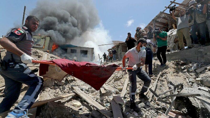 Gazze'de ölü sayısı 200'e yükseldi… ABD'den Filistin açıklaması