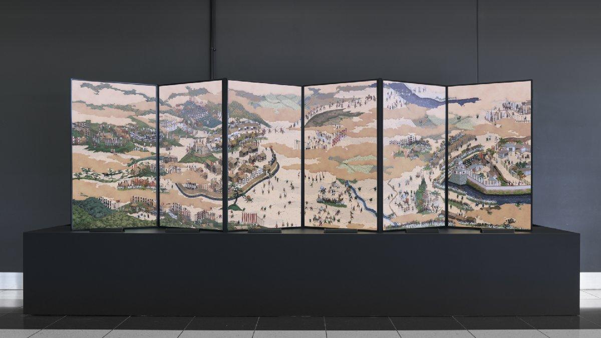 Meşhur Japon tablo animasyona dönüştü