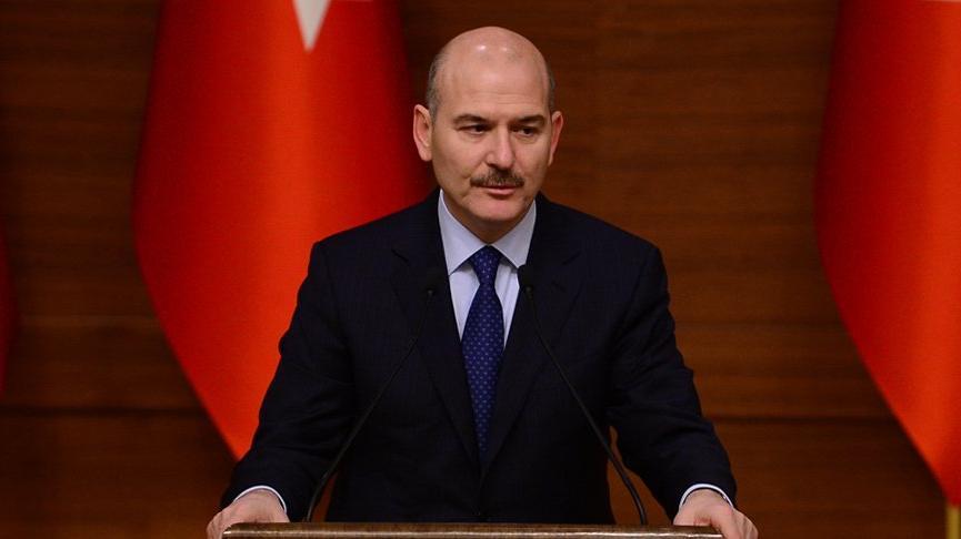 Bakan Süleyman Soylu'dan Sedat Peker hakkında suç duyurusu