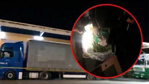 Kosova'da, kamyon içinde 6 milyar euroluk kokain