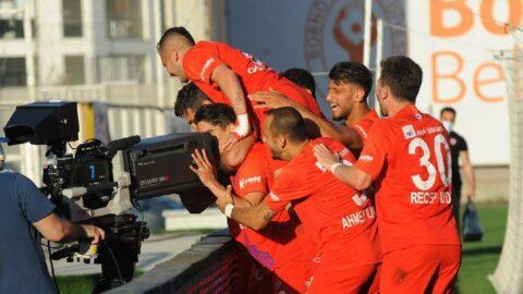 Altınordu, Samsunspor'u yenerek avantajı kaptı