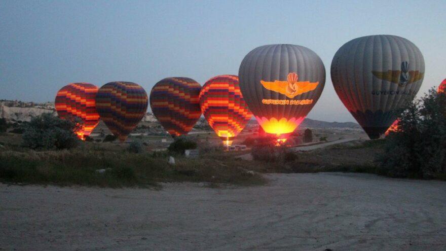 Kapadokya 21 gün sonra şenlendi