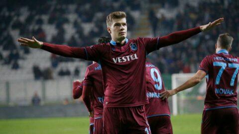 Trabzonspor taraftarlarından Sörloth'a 'dön' çağrısı