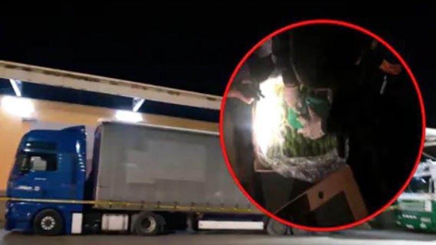 Kosova'da kamyon içinde 6 milyar Euro'luk kokain ele geçirildi