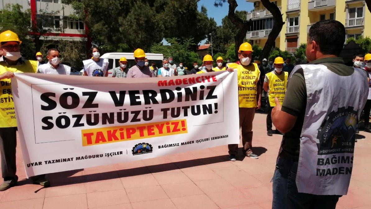 Madencilerden çağrı: Tazminatları öde helalleşelim