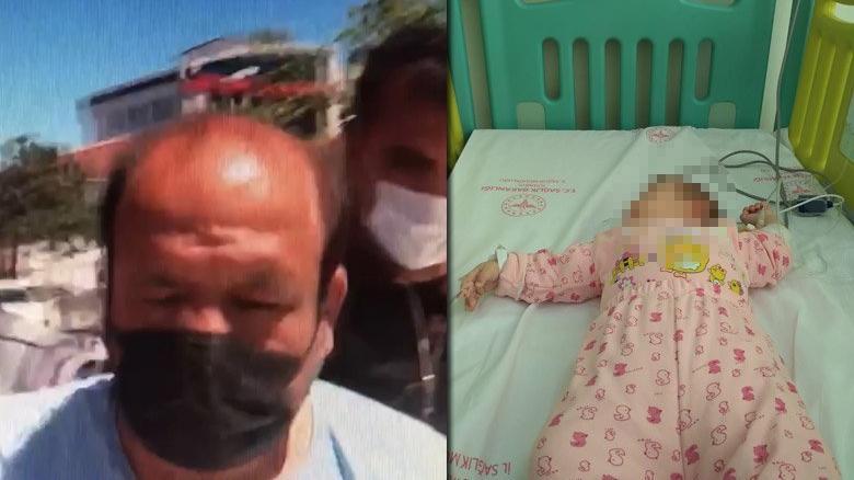 Karısını bıçakladı, 2 yaşındaki kızını boğarak öldürmeye çalıştı