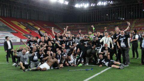 Beşiktaş, normalleşmeyle birlikte taraftarlı kutlama yapacak