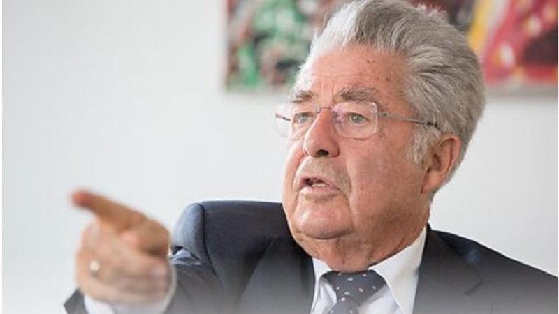 Eski Avusturya Cumhurbaşkanı Fischer'dan İsrail bayrağı tepkisi: Kabul edilemez