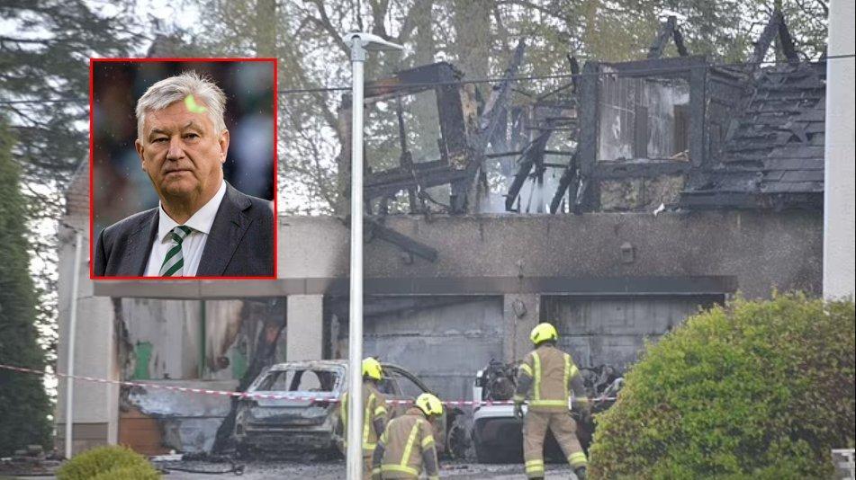 Celtic CEO'su Peter Lawwell'ın evi ateşe verildi