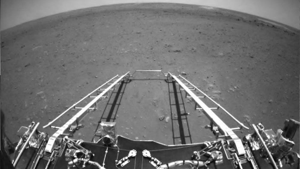 Çin, Mars keşif aracının çektiği ilk fotoğrafları yayınladı