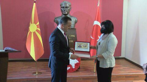 Atatürk'ün okulu Manastır Askeri İdadisi'nde bayram