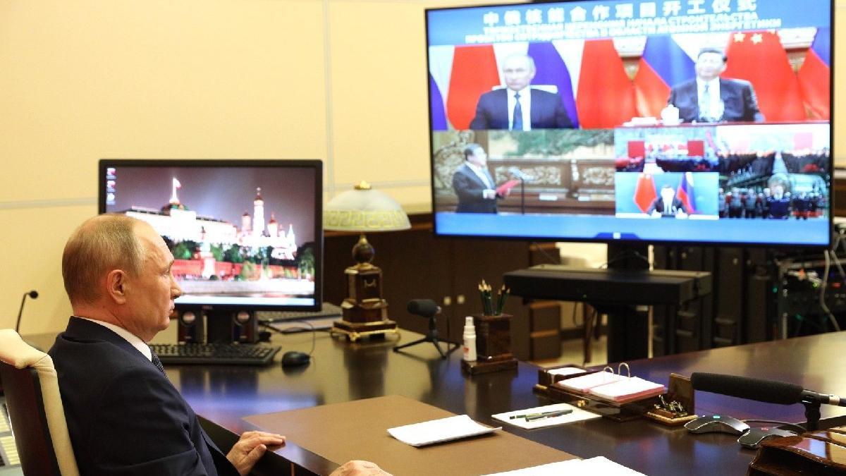 Rusya ve Çin ortak nükleer projesinin temelini attı