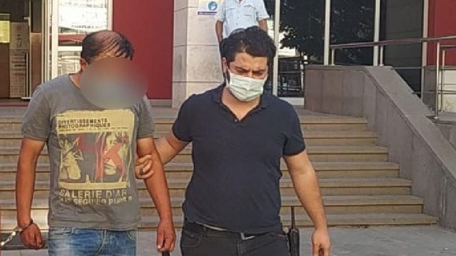 Kadını elle taciz eden şahıs tutuklandı