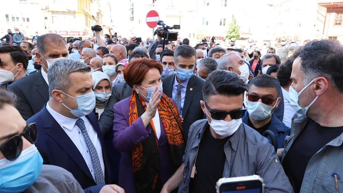 Akşener'den provokatif eylemlere yönelik açıklama: Yol yakın, Abbas yolcu'nun bir örneğidir