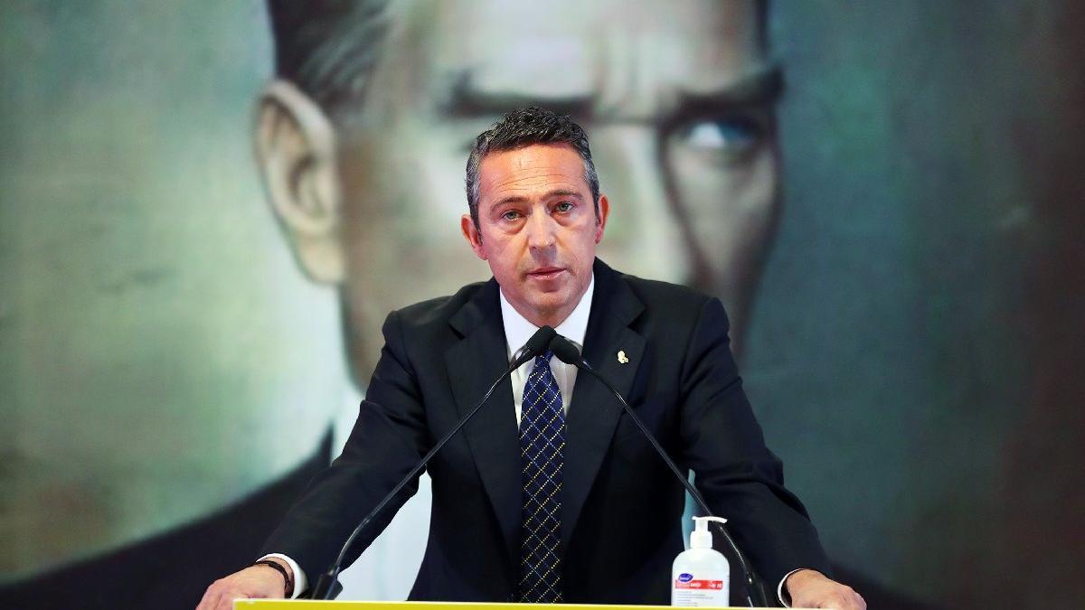 Fenerbahçe Başkanı Ali Koç yeniden adaylığını resmen açıkladı