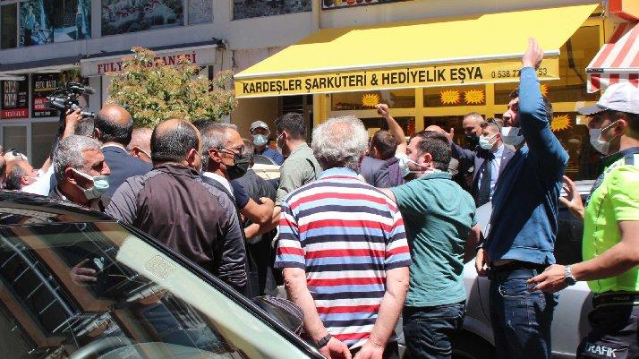 Meral Akşener'in İkizdere ziyaretinde gerginlik....