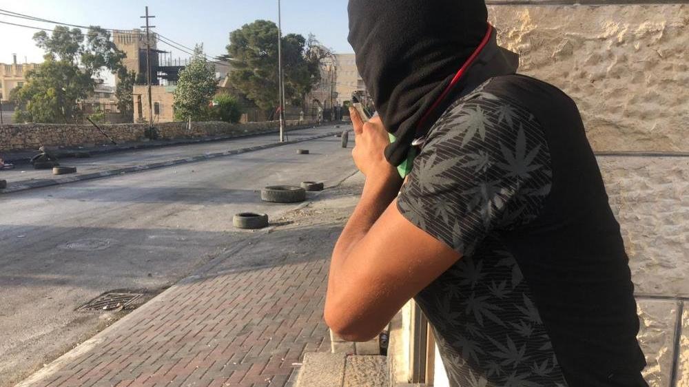 Batı Şeria'da İsrail güçleri ile Filistinliler arasında çatışma
