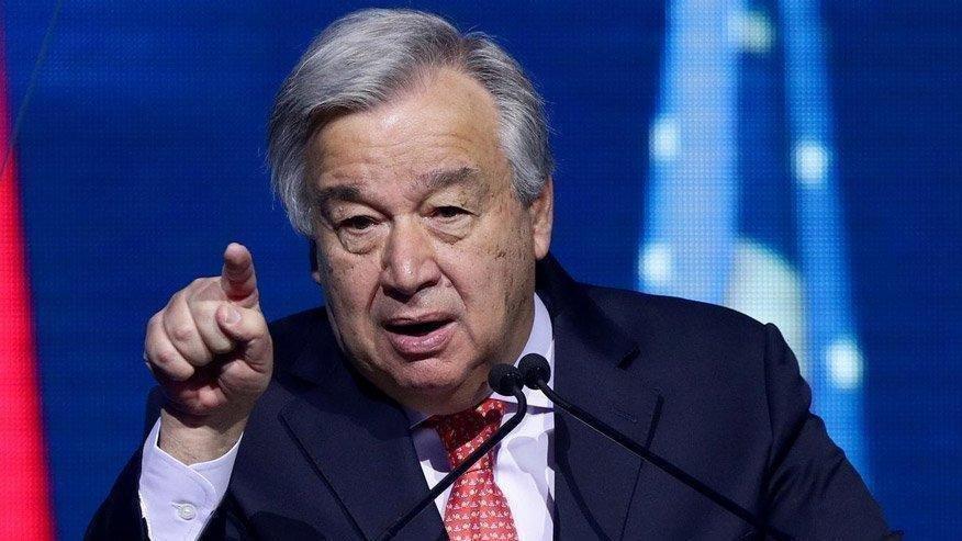 BM Genel Sekreteri Guterres: Yeryüzünde bir cehennem varsa, bugün Gazze'deki çocukların hayatlarıdır
