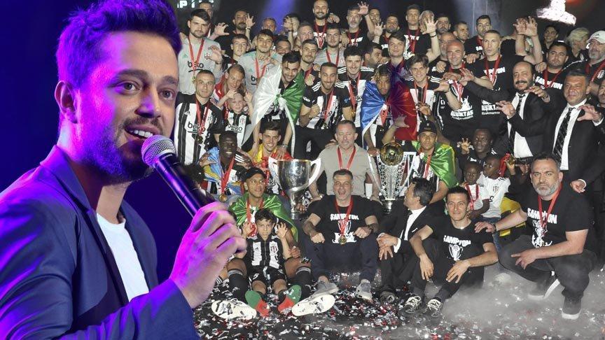 Beşiktaş'ın şampiyonluk kutlamasında Murat Boz'a şok