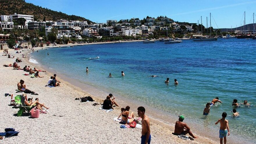 Mavi bayraklı plaj sayısı 519'a yükseldi