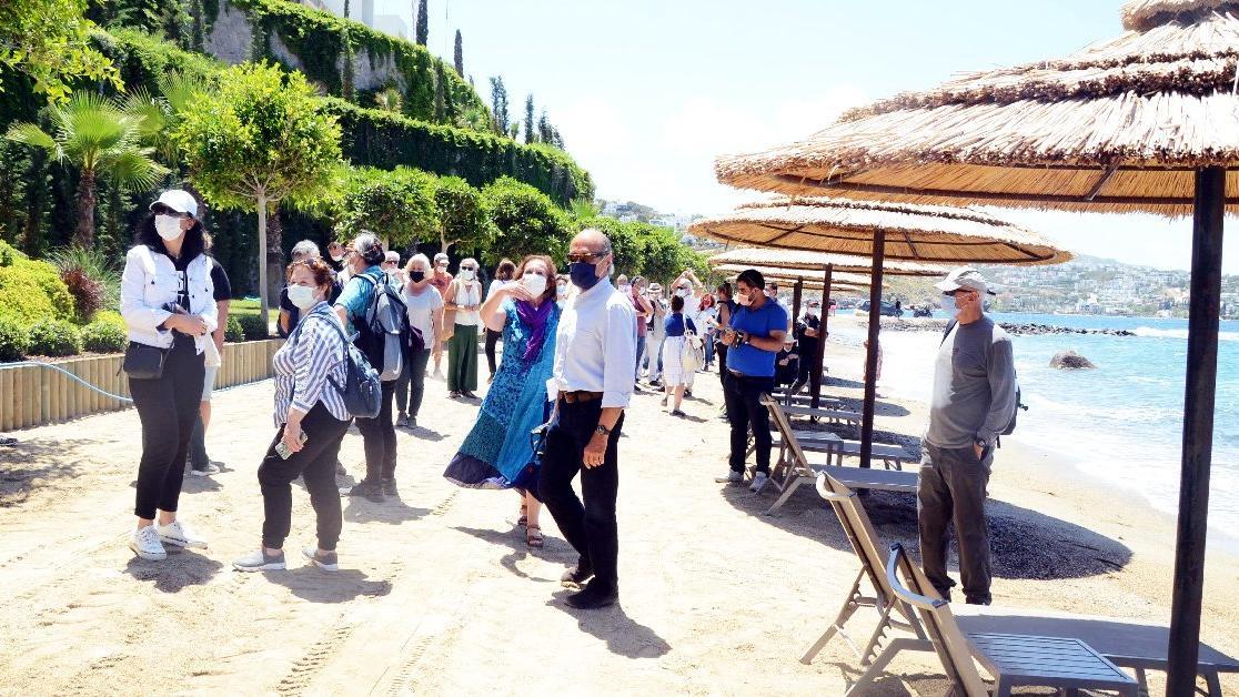 Kaçaklarıyla ünlü projede plaj isyanı