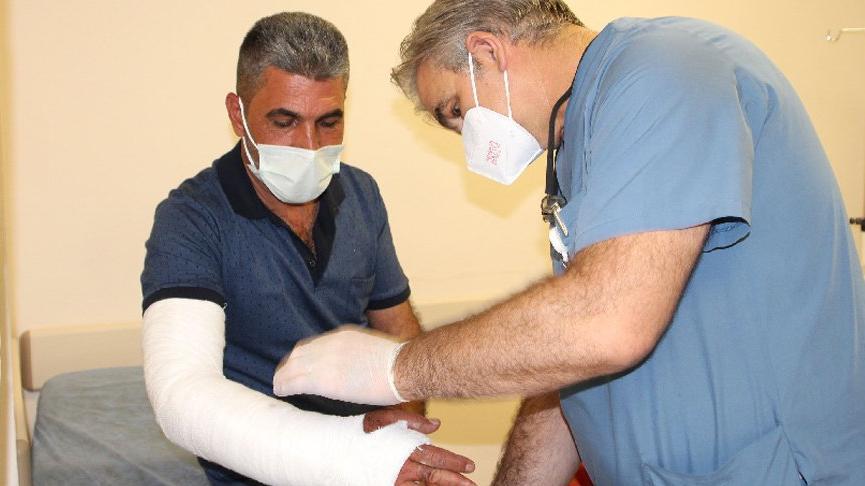 Filyasyon ekibi şoförüne demir boruyla saldıran corona hastasının oğlu tutuklandı