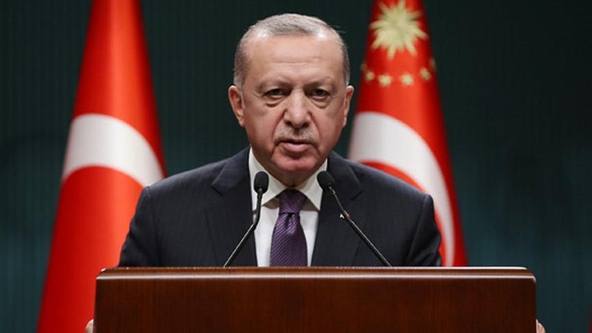 Cumhurbaşkanı Erdoğan'dan aşı açıklaması