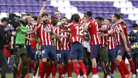 İspanya La Liga'da şampiyon Atletico Madrid