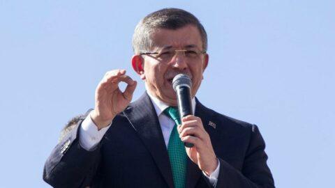 Davutoğlu'ndan Erdoğan'a çağrı: Seçim şartları oluştu, bir an önce ülkeyi erken seçime götür