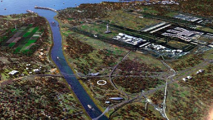 Bakan paylaştı: Kanal İstanbul bitince böyle olacak