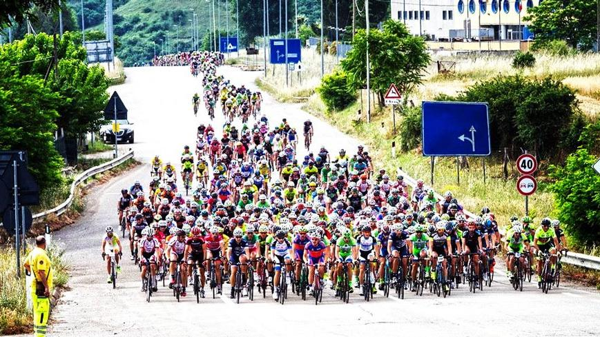 Bisikletçiler Bodrum'a