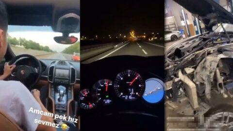 AKP'li vekilin yeğeni çakarlı lüks araçla trafiği tehlikeye attı