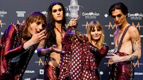 Eurovision'da uyuşturucu krizi: Kameraya yakalandı