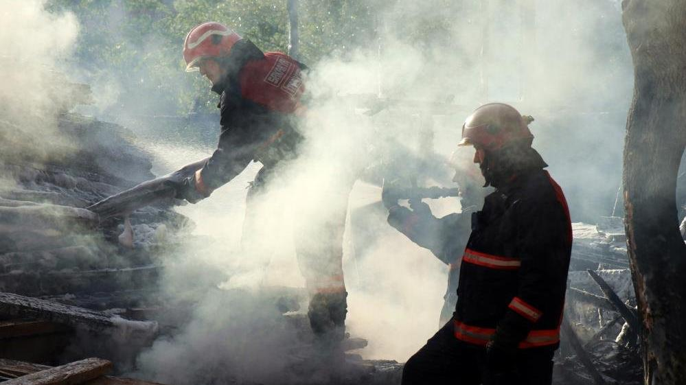 Sakarya'da şehir merkezinde korkutan yangın