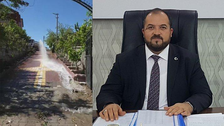 AKP'li başkan, belediyenin imkanlarını kendisi için kullanmış