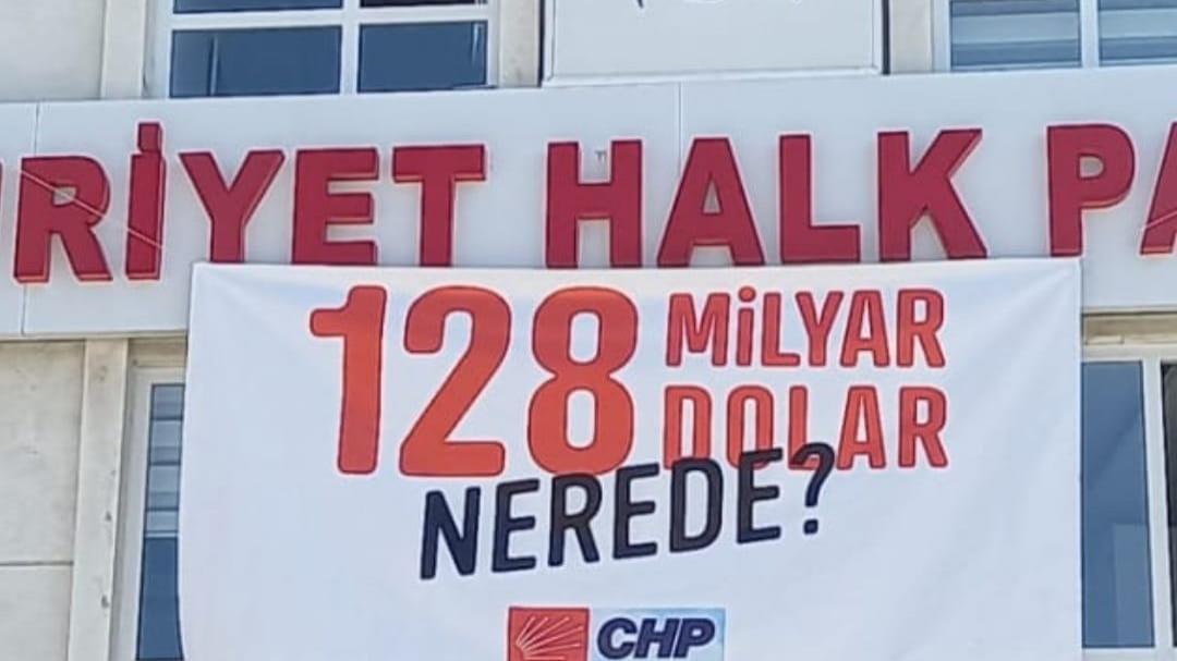 Mahkemeden emsal karar: '128 milyar nerede?' afişine el koyma kararı kaldırıldı