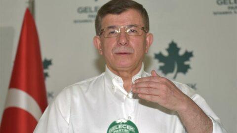 Ahmet Davutoğlu beyaz gömlek giyip kampanya başlattı