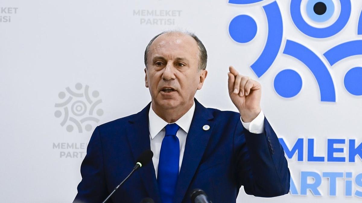 Muharrem İnce'den Sedat Peker açıklaması: Meğer bu iktidar 90'ların baş aktörleriyle kankaymış
