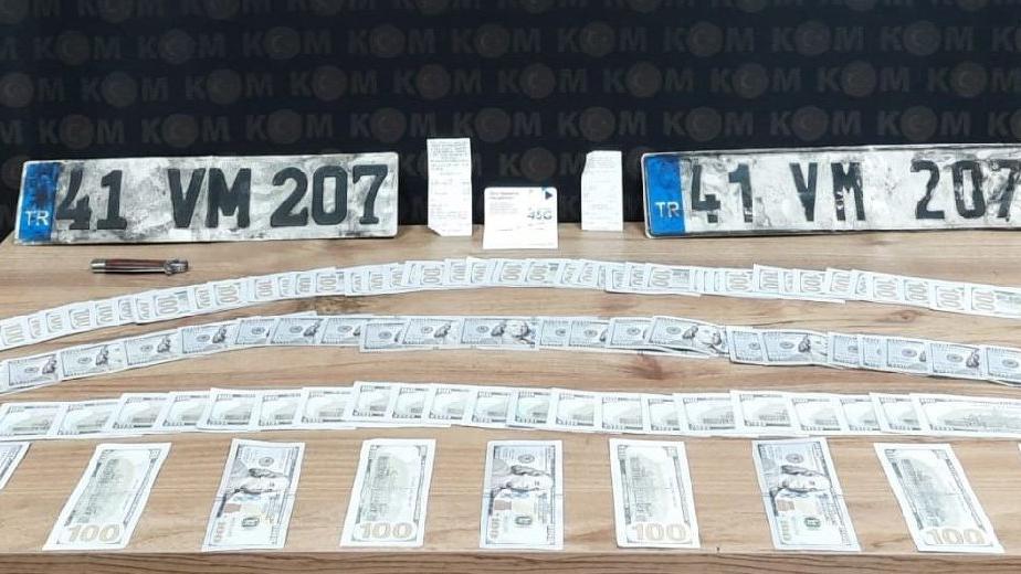 39 yıl hapis cezası ile aranan şahıs, sahte dolarlarla yakalandı