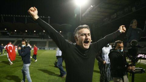 Şampiyon Lille'in hocası Christophe Galtier veda etti