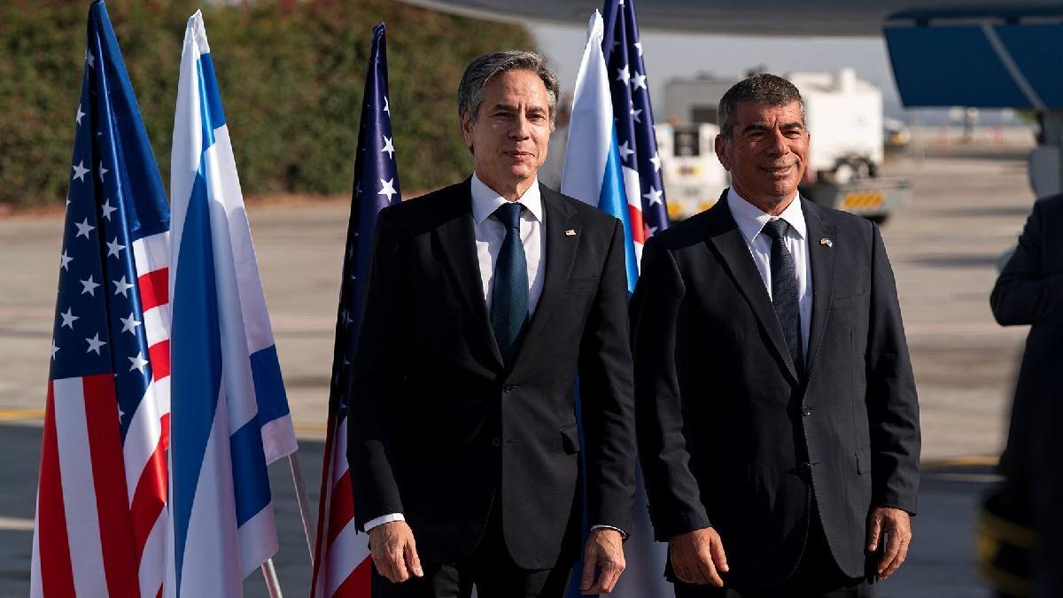 ABD Dışişleri Bakanı Blinken ateşkes sonrası İsrail'de