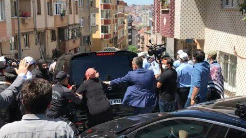 İmamoğlu'na kentsel dönüşüm protestosu