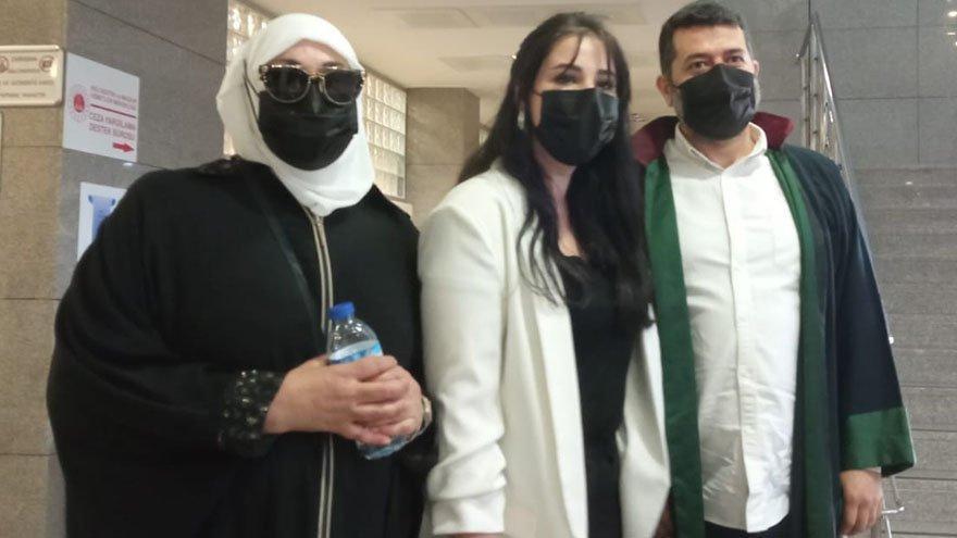 Necla Nazır, kızı Tuğçe Tayfur'un nafaka davasında tanıklık yaptı