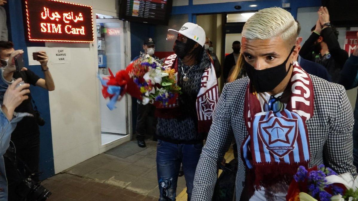 Trabzonspor, Gervinho ve Peres'i Trabzon'a getirdi