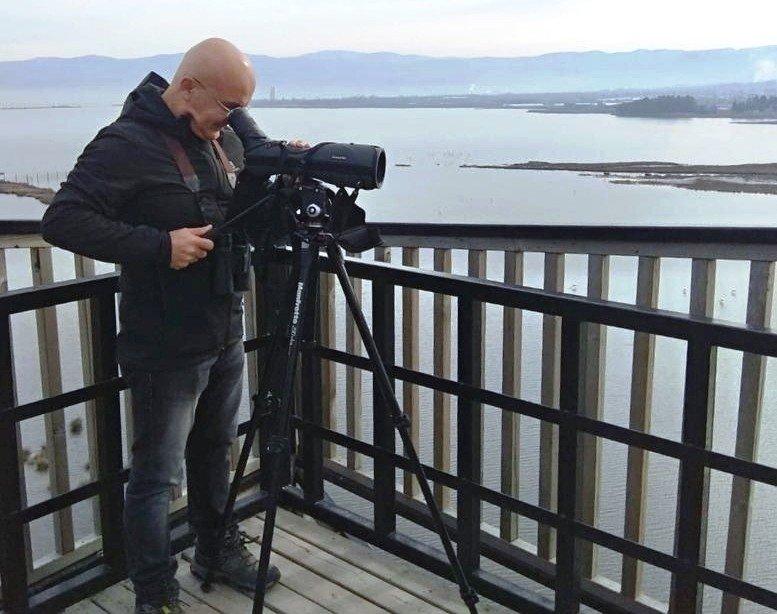 Hersek Lagünü'nde 234 kuş türü 7/24 izleniyor