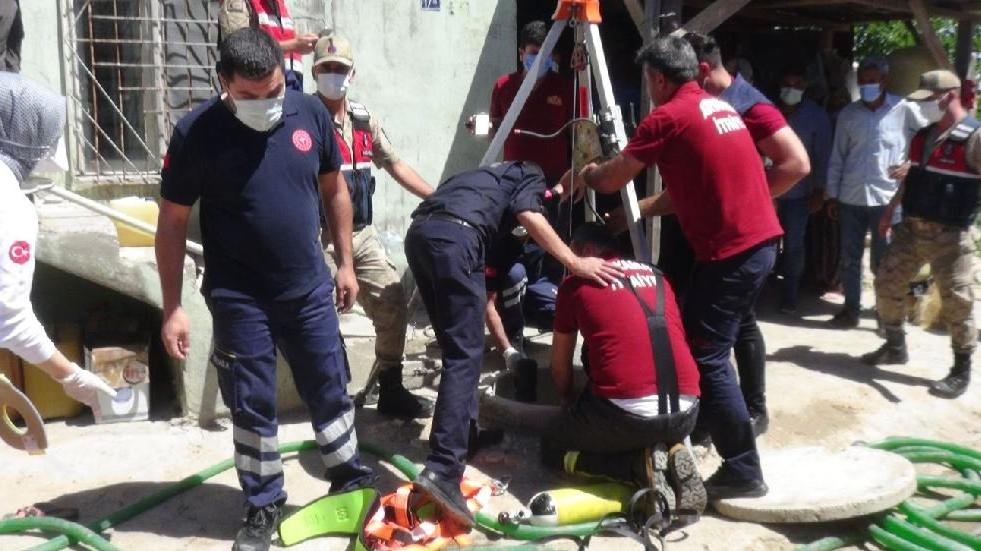 Su kuyusuna giren baba ve 2 oğlu öldü, itfaiye eri zehirlendi
