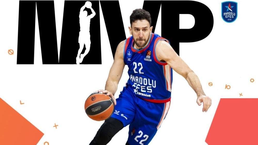 Euroleague'de MVP Vasilije Micic seçildi