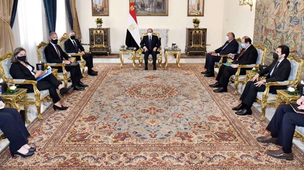 ABD Dışişleri Bakanı Blinken, Sisi ile görüştü