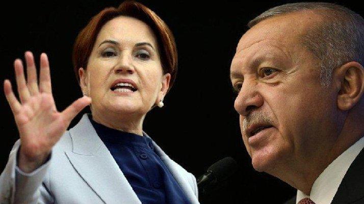 Erdoğan'ın Akşener'e yönelik sözlerine tepkiler çığ gibi