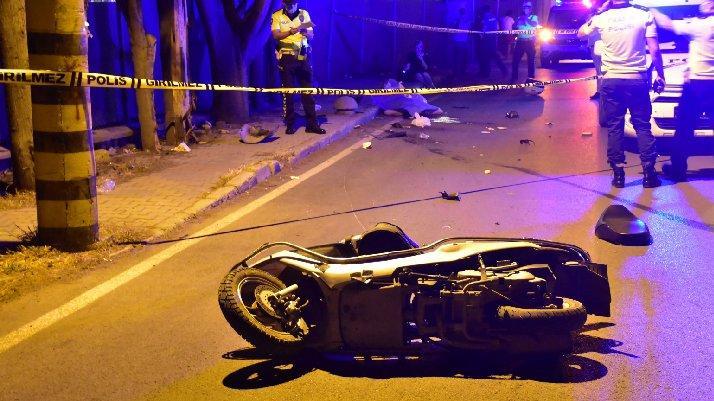 Üniversiteli moto kurye hayatını kaybetti
